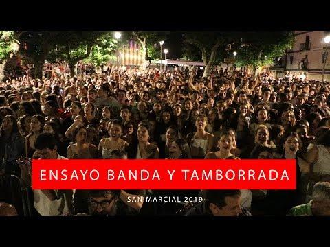 Ensayo de Banda y Tamborrada San Marcial 2019   Txingudi Online