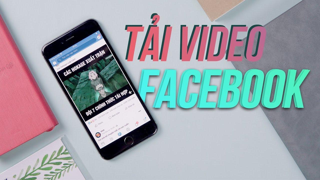 Cách tải video Facebook bằng phím tắt iPhone