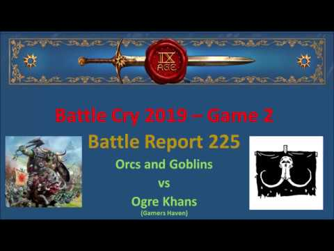 The 9th Age Battle Report 225