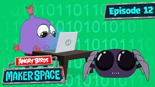 Angry Birds MakerSpace | Will's Spider Bot Build - S1 Ep12