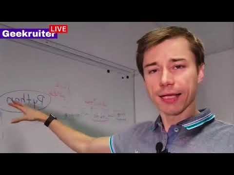 Live about recruiting Python developers