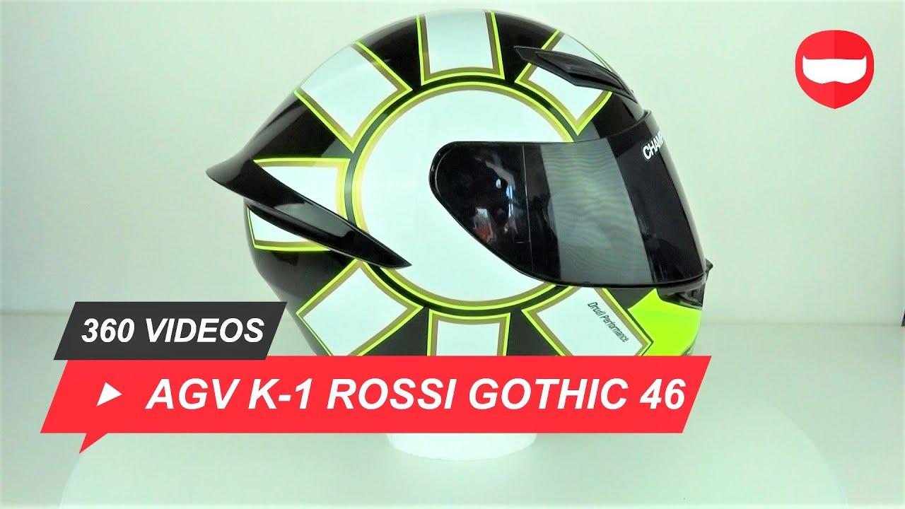 Agv K1 Rossi Gothic 46 Helmet Unboxing Championhelmets Com Youtube