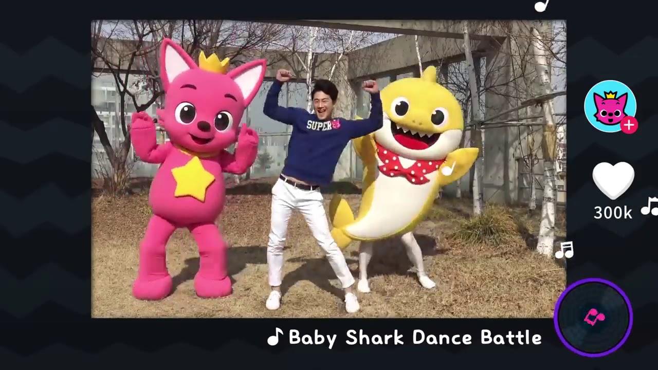 Baby Shark Dance Battle|babysong| - YouTube