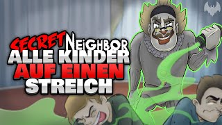 CLOWN ist OVERPOWERED 🤡 - ♠ Secret Neighbor ♠