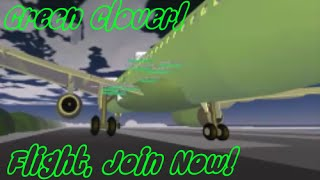 Roblox: Green Clover Flight | Airbus A319 | JOIN NOW!!!