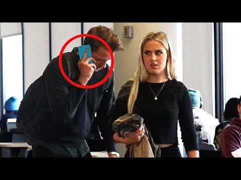 Embarrassing Phone Calls in Public PRANK! (Part 3)