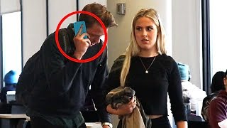 Embarrassing Phone Calls in Public PRANK! (Part 3)