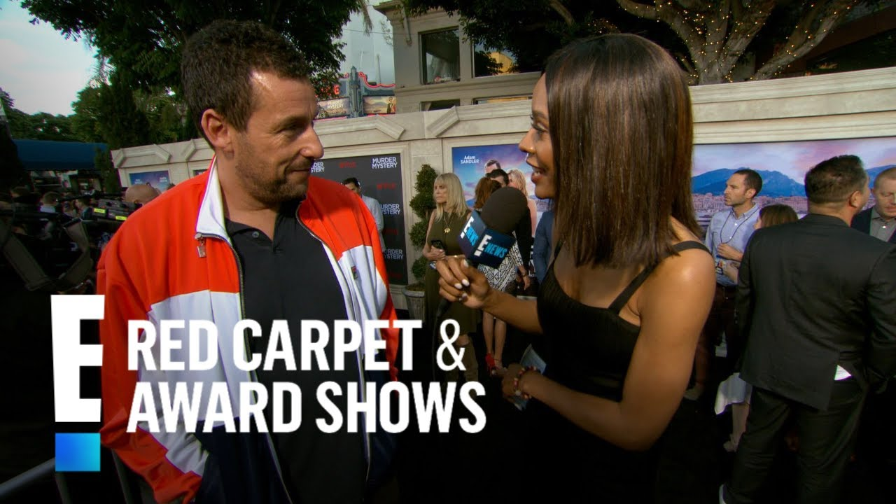 Adam Sandler Wore What to Dinner With George Clooney?! | E! Red Carpet & Award Shows