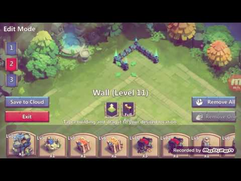 Castle Clash Best TH10 HBM Base