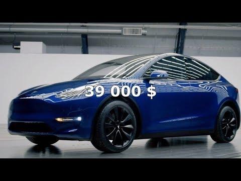 Tesla Model Y! Тест автопилота на собственной жене! Спящий в Tesla!