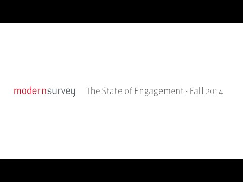 The State of Employee Engagement - Fall 2014