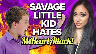 SAVAGE LITTLE KID HATES MsHeartAttack!!
