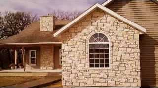 Cottonwood Stone Veneer - Rubble Pattern And Coursed Drystack Interior Fireplace Surround