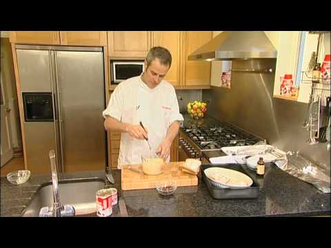 Phil Vickery makes Bread and Butter Pudding