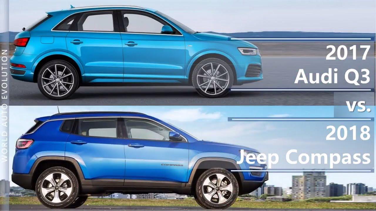 Jeep compass size comparison
