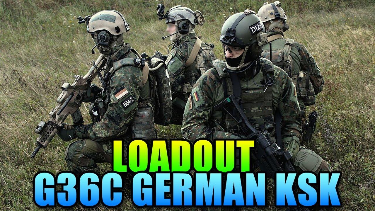 Battlefield 4 Loadout G36C German KSK YouTube