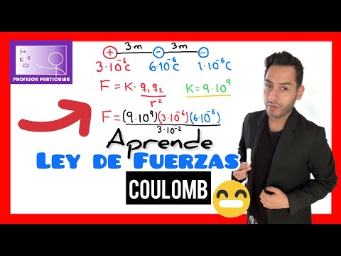Ley de Fuerzas de Coulomb | Física prepa