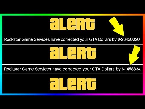 WARNING!!! - ROCKSTAR REMOVE MILLIONS OF DOLLARS FROM PLAYERS ACCOUNTS HOURS BEFORE NEW GTA 5 DLC!!