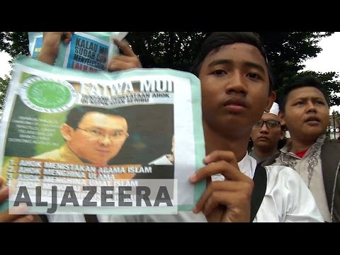 Indonesian capital on high alert ahead of anti-governor rally