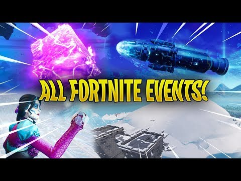 Every Fortnite Live Event So Far..! - (Season 3 - Season 7)