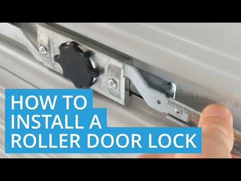 How to Install a Roller Door Lock (DIY)