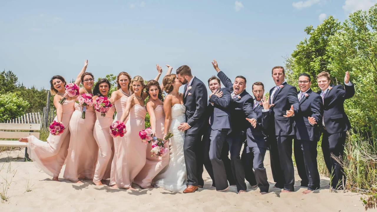 Franki And Stephen S Brant Beach Yacht Club Wedding Photography By Nicole Klym
