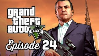 Grand Theft Auto 5 Walkthrough Part 24 - Dead Man Walking ( GTAV Gameplay Commentary )