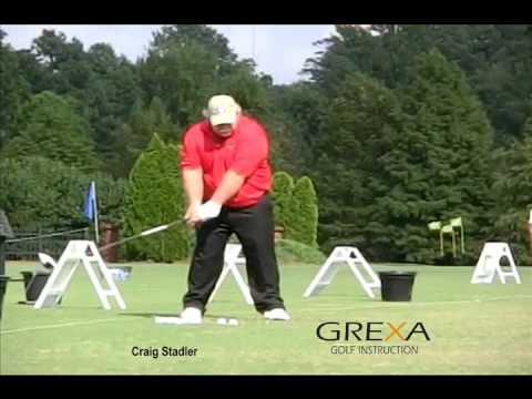 Craig Stadler in slow motion - Champions Tour - SAS Championship