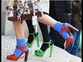 The Most Chic and Extravagant Women Socks and Shoes Outfits Ideas.