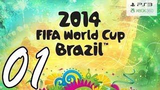 Let's Play FIFA WM 2014 Gameplay German Deutsch Part 1 - Deutschland vs. Portugal (Gruppenphase)