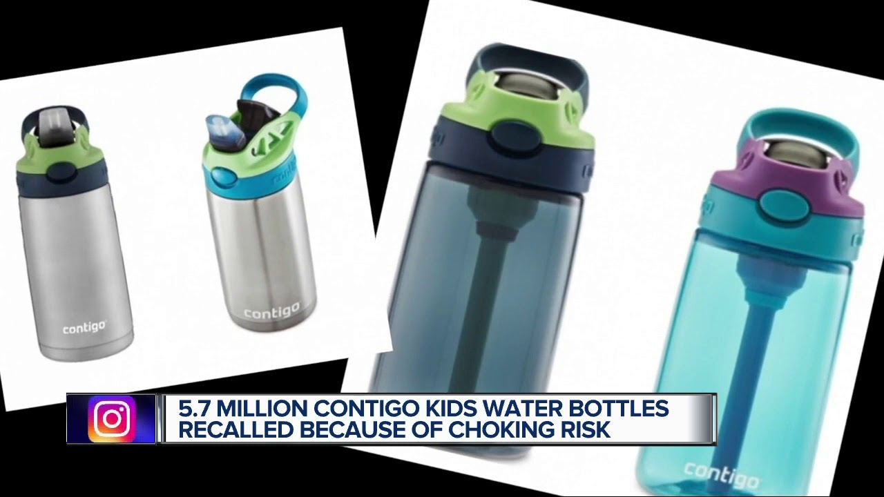 5.7 Million Contigo Kids Water Bottles Recalled Due To Choking ...