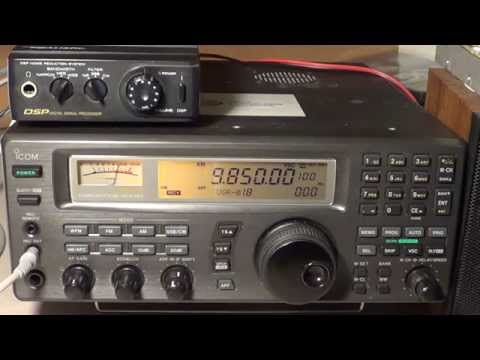 Radio Tirana Albania Shortwave 9850 Khz 0130 UT