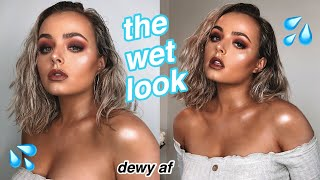 """""""WET & DEWY"""" MAKEUP, SKIN & HAIR 