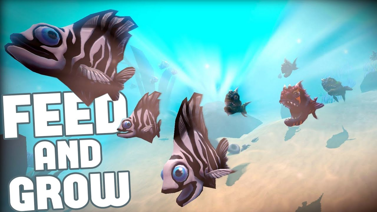 Feed and grow fish evolution proven land fish for Fish and grow
