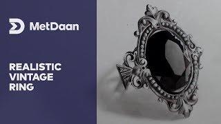 Realistic vintage ring | MET DAAN