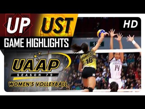 UP vs. UST | Game Highlights | UAAP 79 WV | April 2, 2017