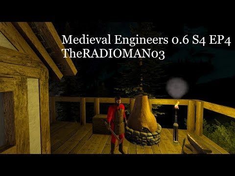"Medieval Engineers 0.6 S4 EP4 ""Smelting and Fast Travel"""