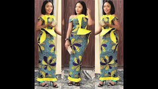 Collection Of Best African Prints 2019: #Ankara Styles With Classical Finishing 2019