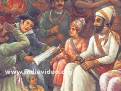 darbar chhatrapati shivaji maharaj ravi varma youtube