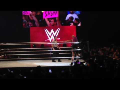 [WWE Live Manila] Sasha Banks Entrance