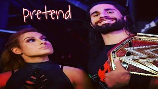 """Download Seth Rollins  And Becky Lynch Tribute """"Pretend"""" 2019 MUSIC VIDEO Mp3 and Videos"""
