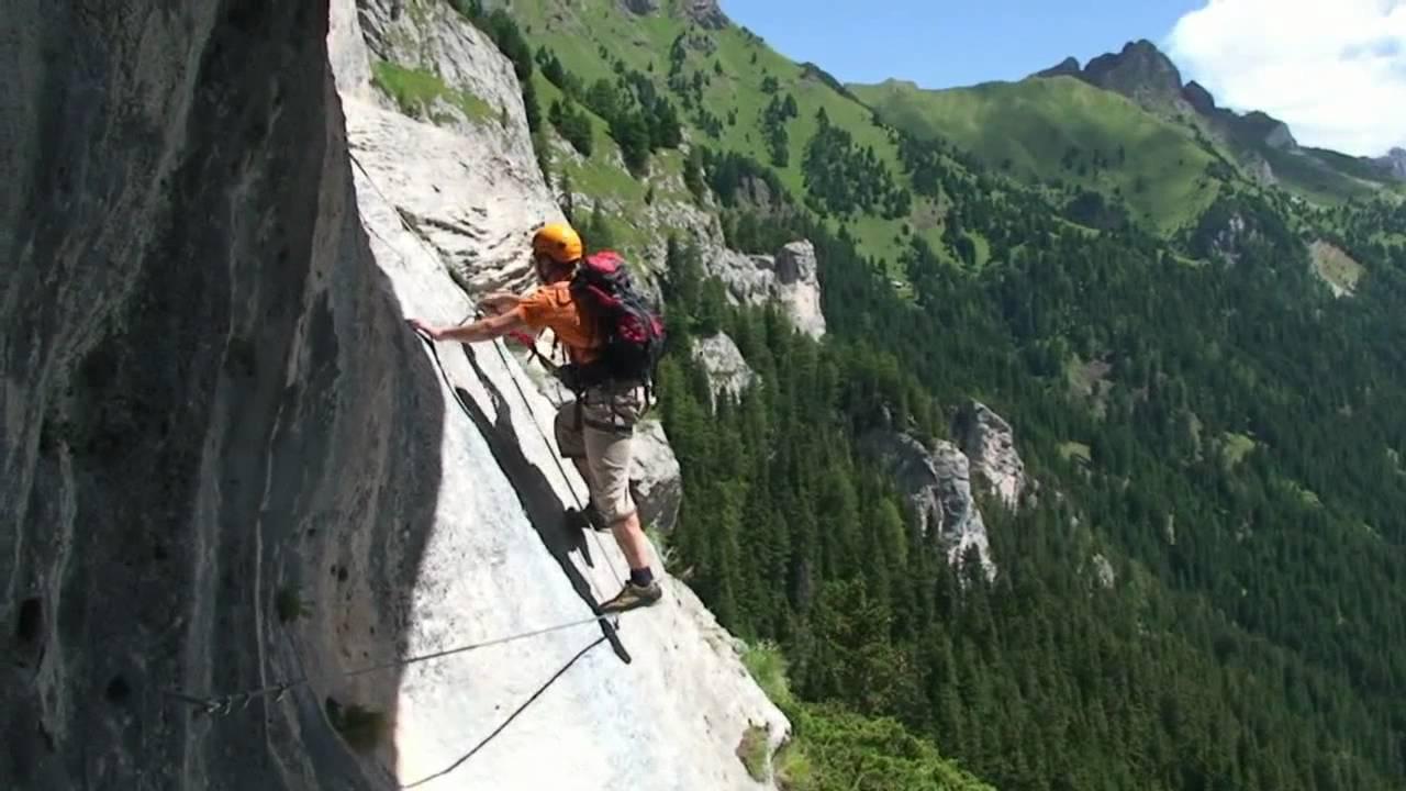 Klettersteig Magnifici Quattro : Ferrata i magnifci 4 youtube