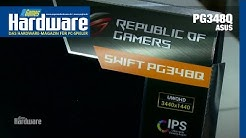 Asus PG348Q | Ultrawide-Nachzügler (21:9) im Hands-on Test