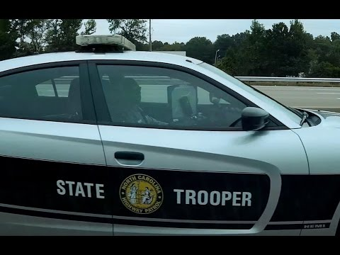 "North Carolina State Highway Patrol Speeding Cop ""SHP-921"""