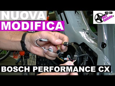 HOW TO ASSEMBLE THE NEW MODIFICATION OF BIKE ELECTRIC MOTOR BOSCH PERFORMANCE CX