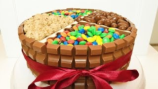 Kinderschokoladen Torte - Geburtstagstorte / Candy Cake
