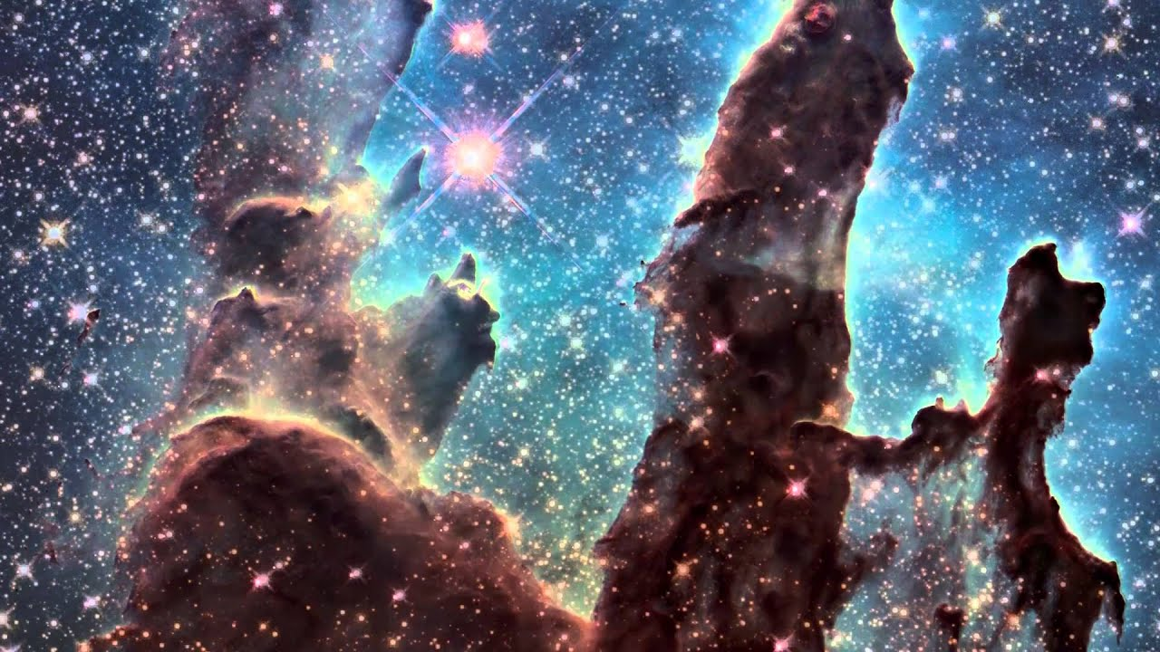 hubble backgrounds pillars of creation - photo #21