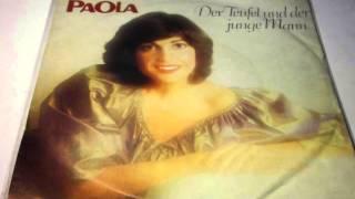 """PAOLA Der Teufel Und Der Junge Mann PLAK RECORD 7"""""""