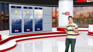 20.08.2010 YouTube Wetter Deutschland Wettervorhersage Wetterbericht Wochenende