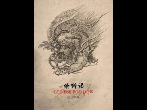 tattoo flash book chinese foo dog tattoo design book